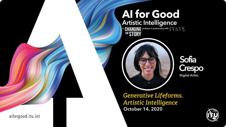 Generative Lifeforms. Artistic Intelligence with Sofia Crespo, Digital Artist.