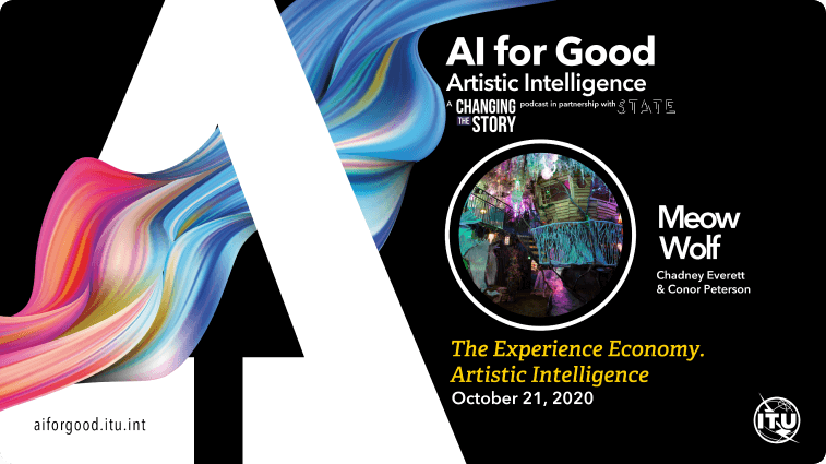 The Experience Economy. Artistic Intelligence with Chadney Everett and Conor Peterson of Meow Wolf.
