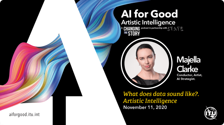 What does data sound like? Artistic Intelligence with Majella Clarke, .Conductor, Artist, AI Strategist.