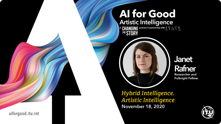 Hybrid Intelligence. Artistic Intelligence with Janet Rafner, Researcher and Fulbright Fellow.
